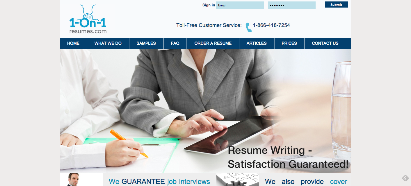Inexpensive resume writing service