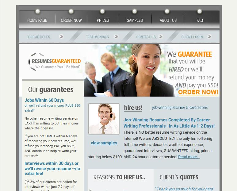 ResumesGuaranteed.Com Review